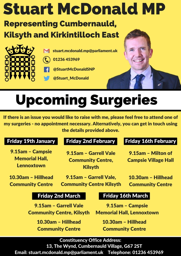 Kirky Surgery Poster January - March 2018